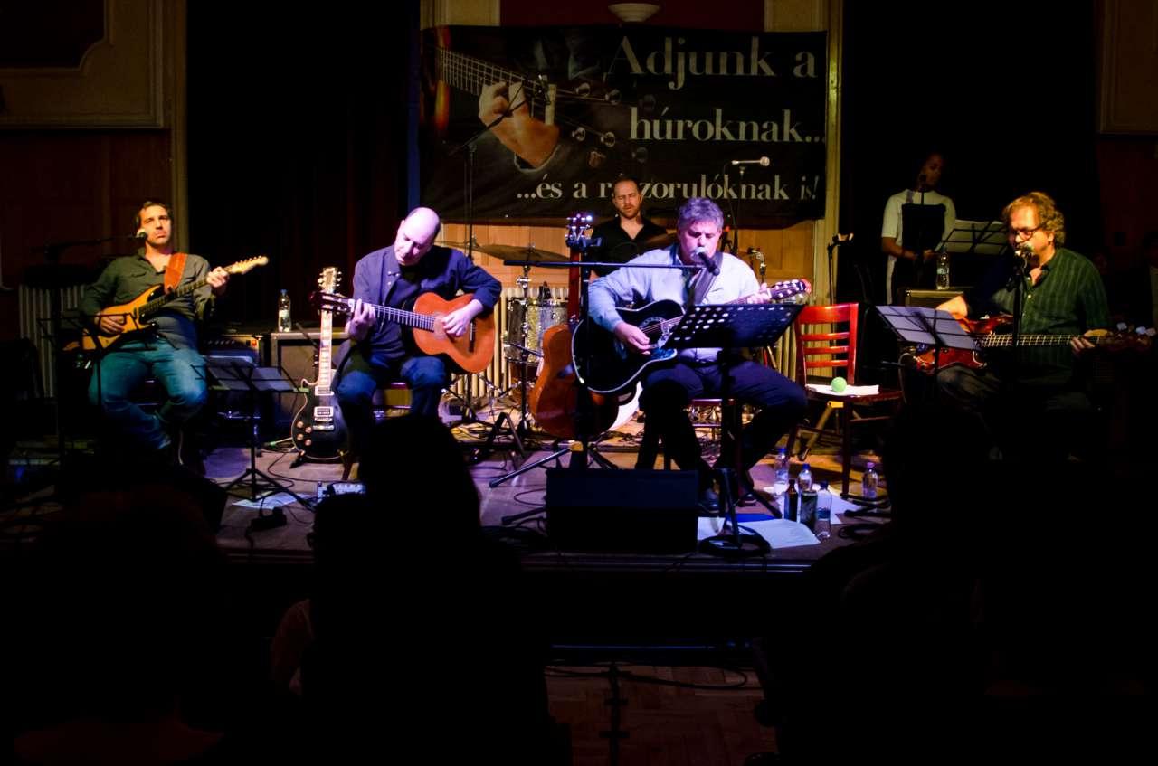 Rekordok dőltek dr. György István és Póka Egon koncertjén