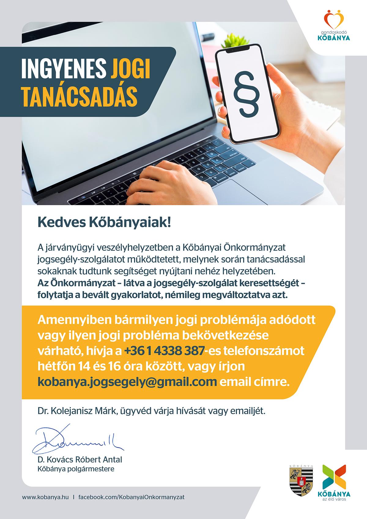az internetes jogi tanácsadással kapcsolatos bevételek)